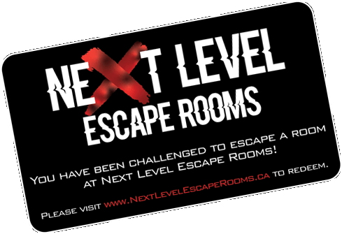 Next Level Escape Room Gift Cards